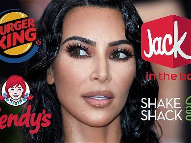 Kim Kardashian's Jack in the Box Tweet Sparks Fast Food Social Media Frenzy