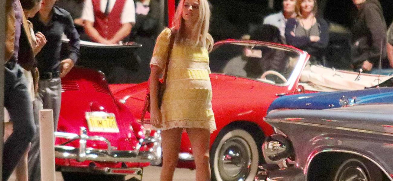 Margot Robbie Seen With Tragic Baby Bump as She Portrays Pregnant Sharon Tate