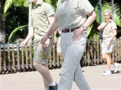 The Irwins Celebrate Steve Irwin Day at Australian Zoo