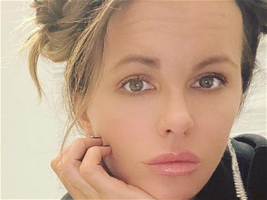 Kate Beckinsale Flaunts Fantastic Abs In Kitchen Dance With Furry Friend