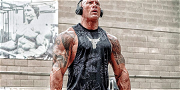 'The Rock' Posts Insane Body Pics While Training For 'Black Adam'