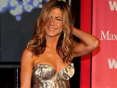 Jennifer Aniston Is Perky And Braless In White Hot SAG Awards Look