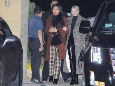 Kylie Jenner Shows Her Wild Side During Girls Night Out With BFF Jordyn Woods