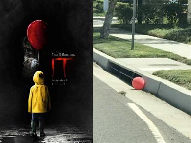 'IT' Red Balloons Seen Floating Near Los Angeles Storm Drains