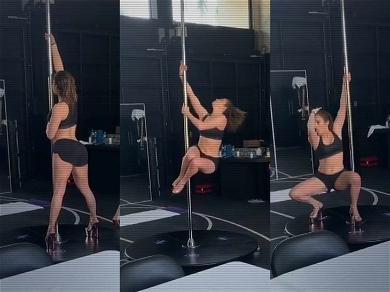 Jennifer Lopez is Already a Pro on the Stripper Pole