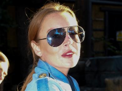 Lindsay Lohan Shuts Down 'Masked Singer' Co-Star Jackie O's 'Lies'