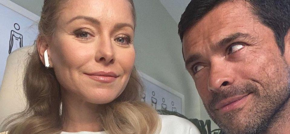 Kelly Ripa Struggles In Zip Skirt 'Not Meant For Walking'
