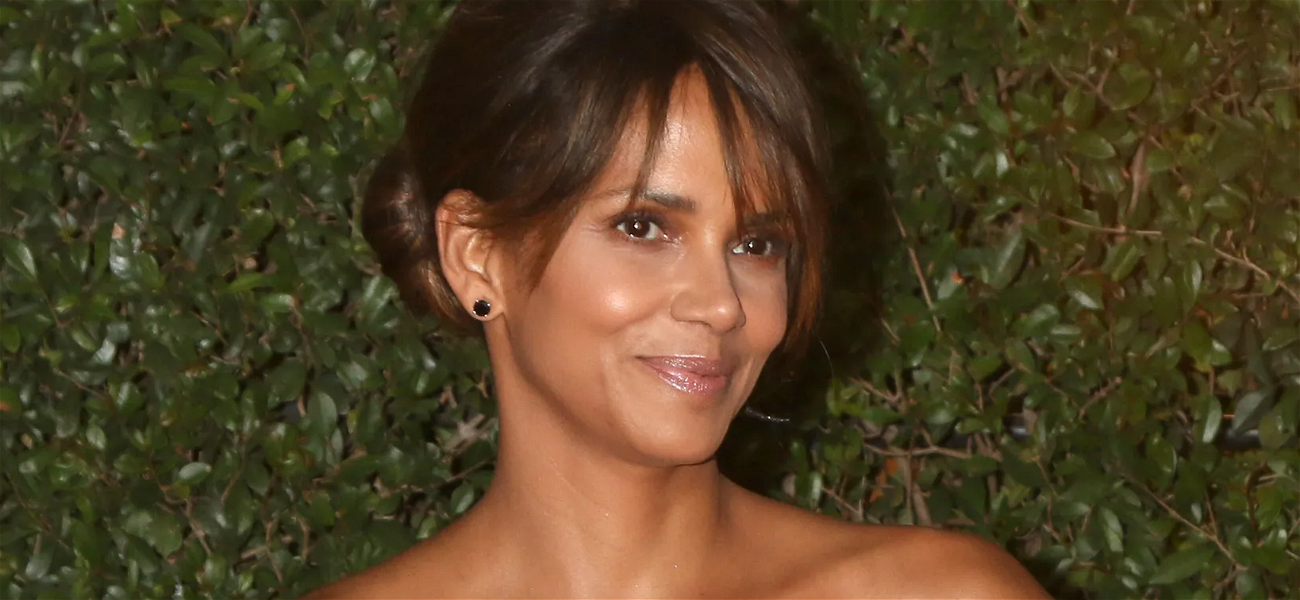 Halle Berry Has Revealing Wardrobe Malfunction On IG Live