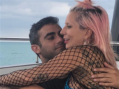 Lady Gaga Cuddles Up To New Boyfriend In Sweet Sunset Selfie