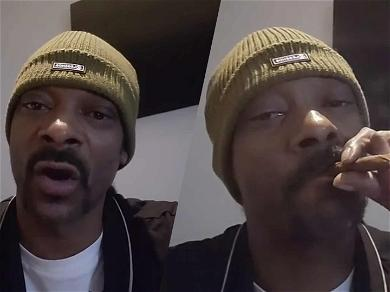 Snoop Dogg Does The 'Kush Up Challenge' While On Self-Quarantine