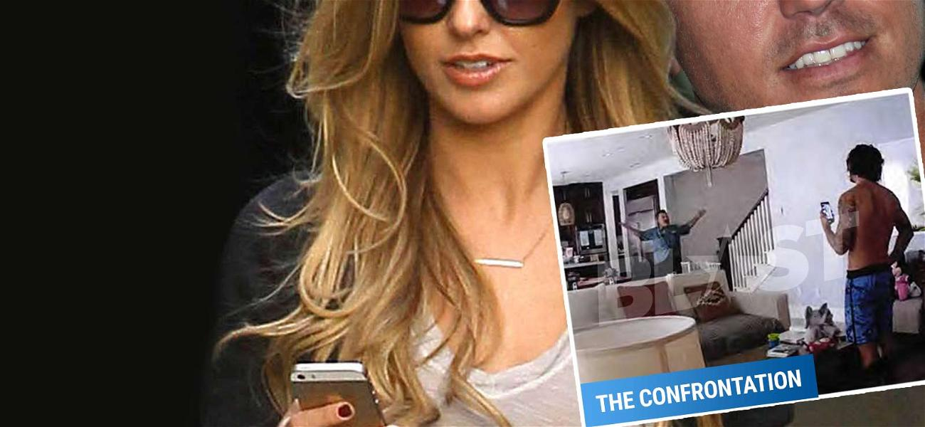 Audrina Patridge to Corey Bohan: Get Out of My House NOW!! Husband Almost Comes to Blows With Dad