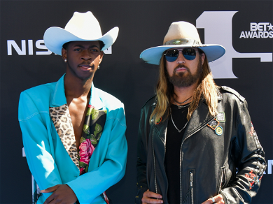 Lil Nas X & Billy Ray Cyrus Congratulate Billie Eilish on Taking Down 'Old Town Road' as No. 1 Song