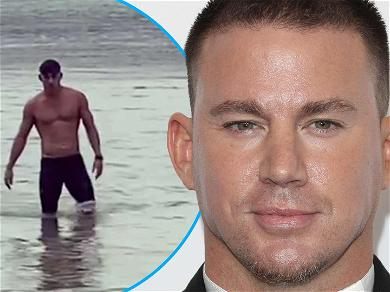 Channing Tatum Shows Off Hunky Swimmer's Body After Grueling 2-Mile Ocean Swim