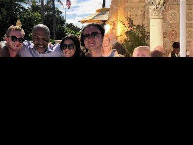 Donald Trump Is at Mar-a-Lago and Apparently So Is Mike Tyson