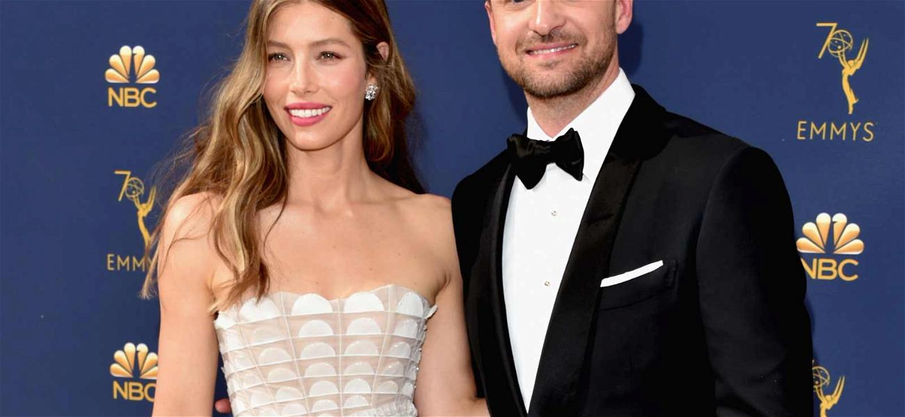 Jessica Biel & Justin Timberlake Steal The Emmys Red Carpet as Cutest Couple!