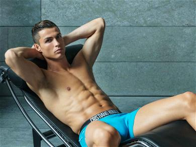 Cristiano Ronaldo Strips Down for His Spring Line … You're Welcome