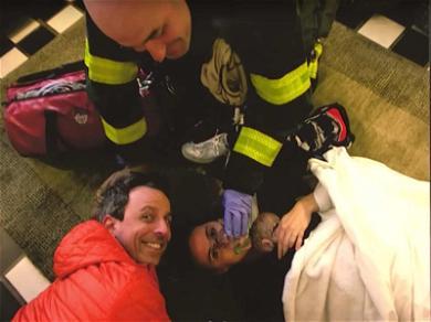 Seth Meyers' Wife Gave Birth in Their Apartment Lobby