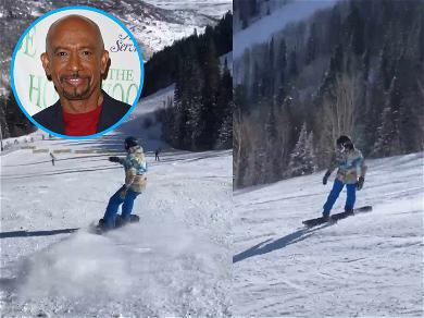 Montel Williams Hits the Slopes for First Snowboarding Session Since Near-Fatal Stroke