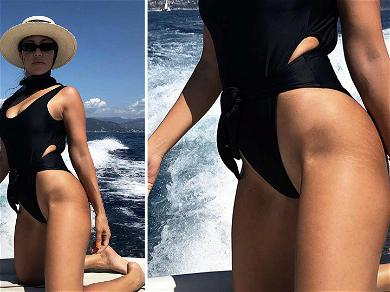 Kourtney Kardashian Praised For Not Editing Stretch Marks, Was It an Accident?