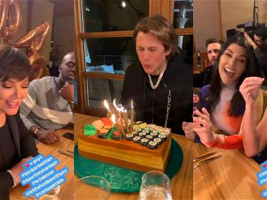 Kim, Kris and Kourtney Celebrate Jonathan Cheban's Birthday Without Khloé Kardashian