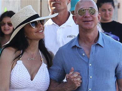 Jeff Bezos & Lauren Sanchez Go Full Speed Ahead With PDA After $140 Billion Divorce