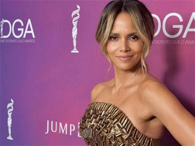 Halle Berry Drops Jaws In Braless Gym Shot With Soaking-Wet Hair