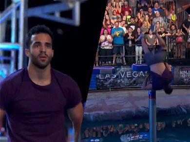 Three-Time Olympic Medalist Defies Gravity With Amazing 'American Ninja Warrior' Save