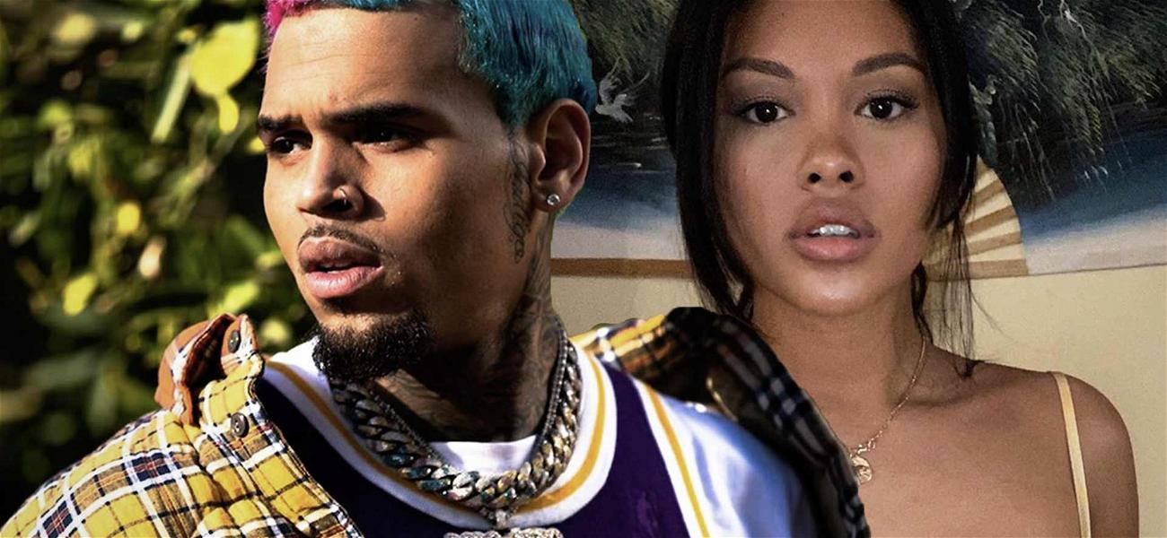 Chris Brown Reunites With Baby Mama Ammika Harris Three Months After Birth Of Son