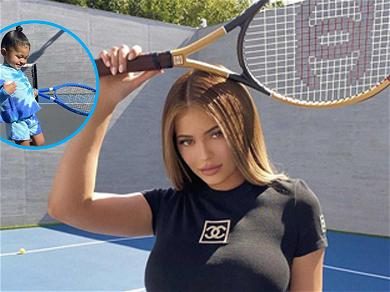 Kylie Jenner's 2-Year-Old Daughter Stormi Plays Tennis With $475 Chanel Balls