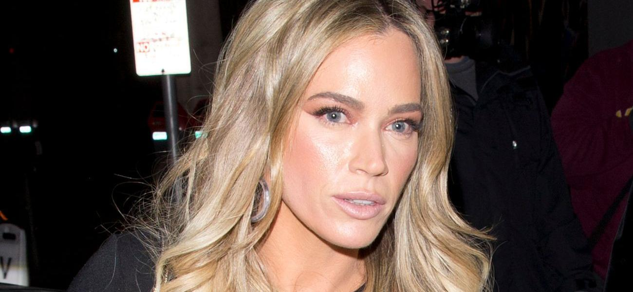 'RHOBH' Star Teddi Mellencamp Continues To Promote Alleged 'Starvation Scam Company'