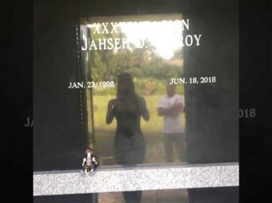 XXXTentacion's Family Filled His Crypt With Fan Tributes