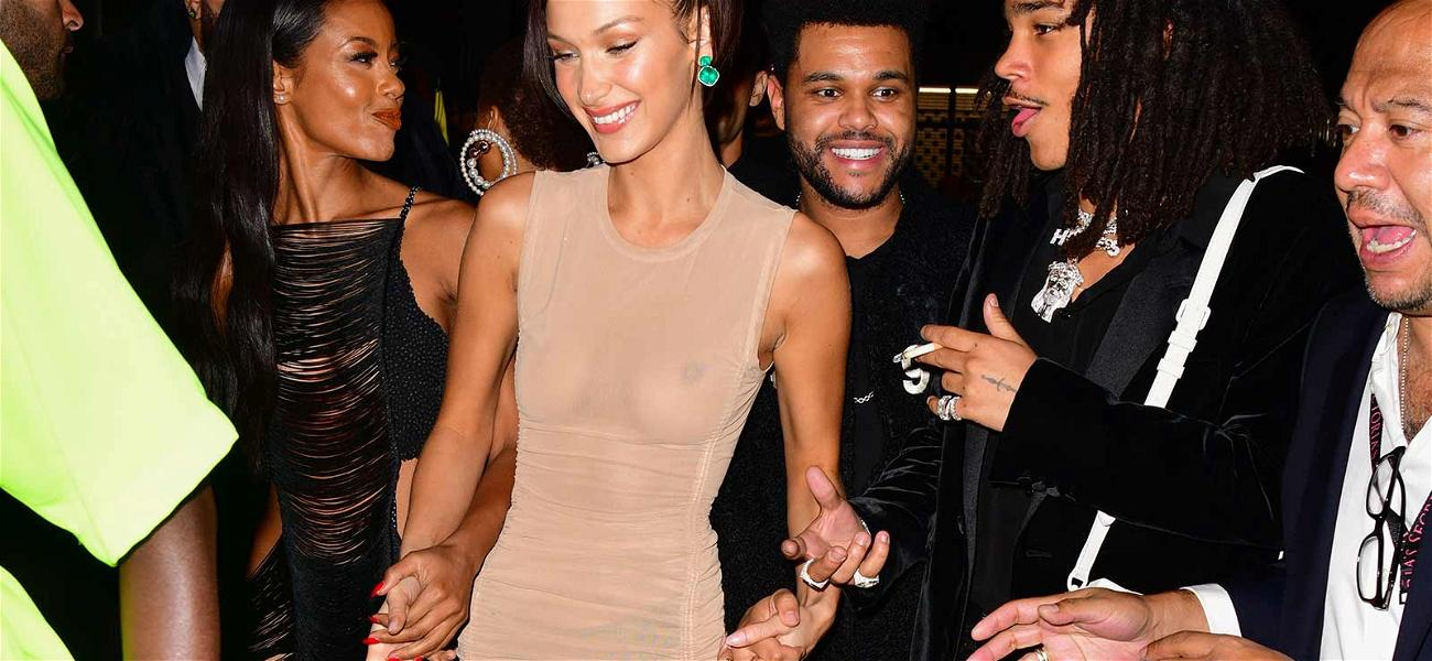 Bella Hadid Bares It All At Model-Studded Victoria's Secret After-Party!