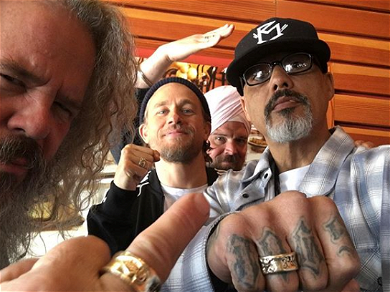 'Sons Of Anarchy' Stars Jax, Opie, Happy, And Bobby Reunite For Fantastic Photos