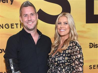 Christina Haack Engages In Flirtatious Moment With ExTarek El Moussa