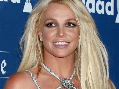 Britney Spears Code Red With Pantless Thigh Gap