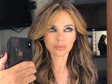 Elizabeth Hurley's Topless Holiday 'Mood' Pic Will Leave Your Cheeks Rosey