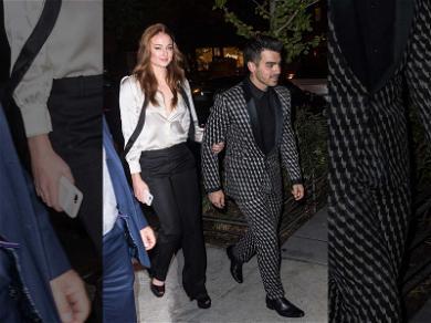 Joe Jonas and Sophie Turner's Famous Friends Arrive