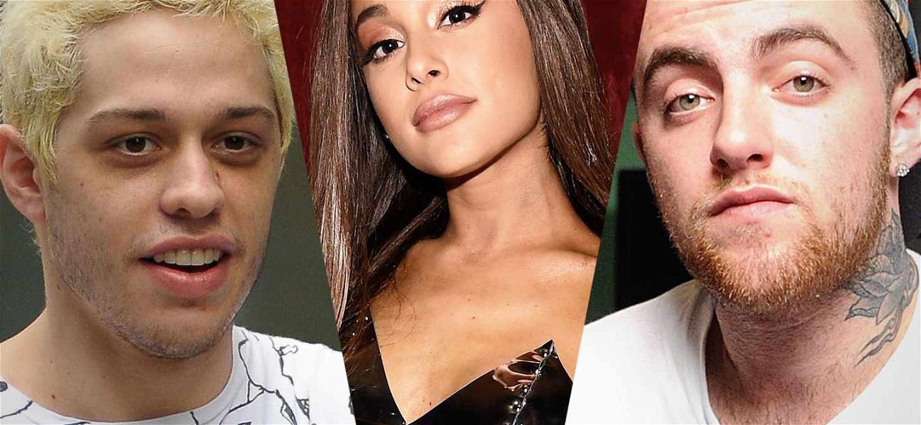 Ariana Grande Covers Up Pete Davidson Tattoo wth Mac Miller's Dog
