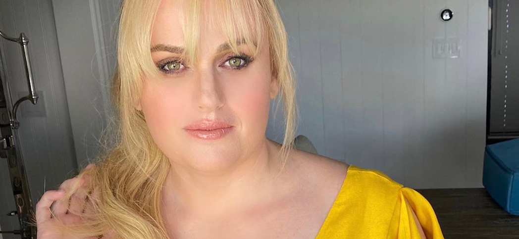 Rebel Wilson Flaunts Snatched Waist In Yellow Dress For 'Hottest Day Of The Year'