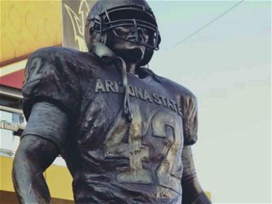 Pat Tillman Immortalized at ASU with Statue