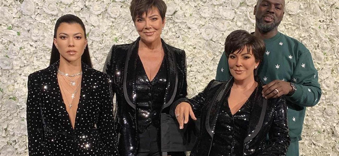 Kris Jenner Hangs With Her Wax Figure … Can You Guess Who Is Real?!