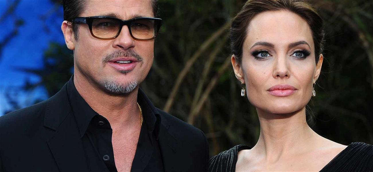 Brad Pitt and Angelina Jolie Seen in Heated Discussion During Beverly Hills Meeting
