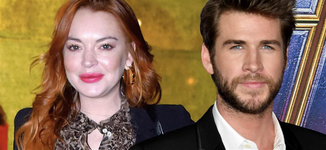 Lindsay Lohan Flirting With Liam Hemsworth Sends Fans Into Tailspin