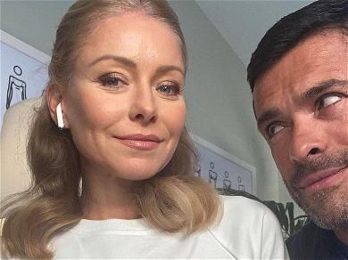 Kelly Ripa Strips Down To Welcome Husband Home