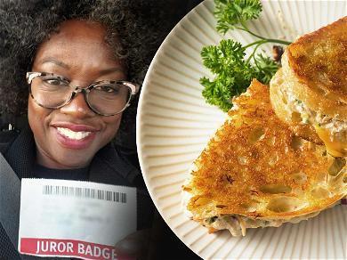 Viola Davis Raves About the $5 Tuna Melt Sandwich at Jury Duty