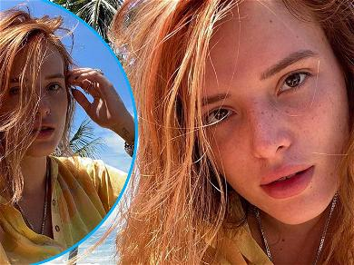 Bella Thorne's On Fire! The Fresh Faced Beauty Is Back To Being A Fiery Redhead