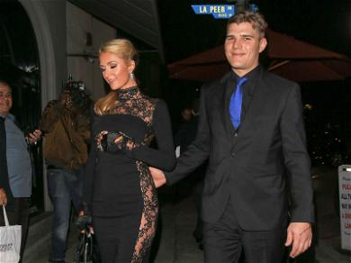 Paris Hilton Is Glowing on First Night Out with Chris Zylka Since Engagement