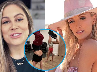 Olympic Gymnast Nastia Liukin Crushes Shawn Johnson In Race To Take Their Pants Off