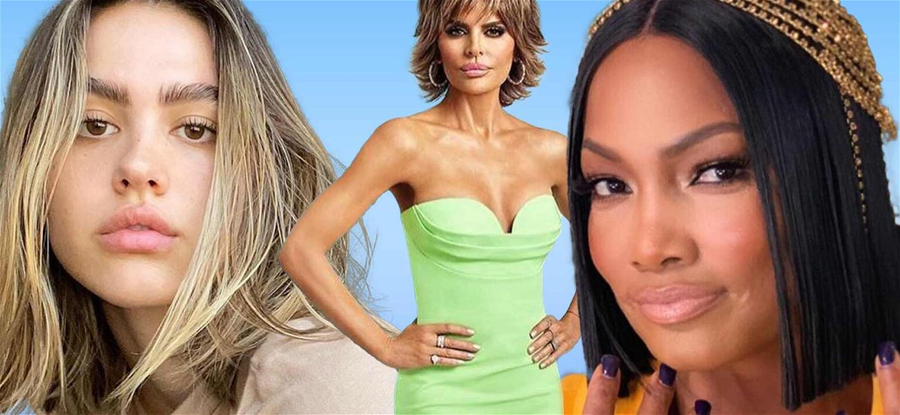 'RHOBH' Lisa Rinna's Daughter Amelia Lashes Out At Garcelle Beauvais With Booty Shaking Tambourine Video
