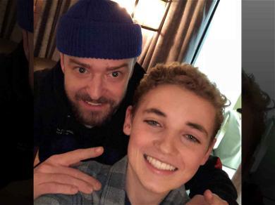 Selfie Kid Reunites with Justin Timberlake, Debuts Braces-less Face!